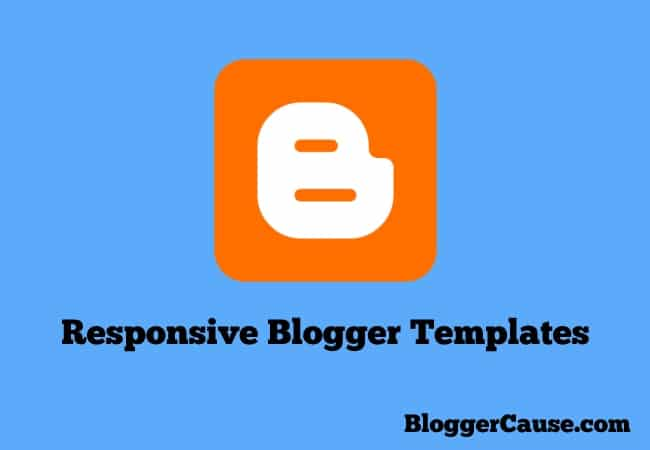 8 Responsive Blogger Templates (SEO Ready)